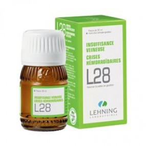 Lehning L28 solution buvable 30 ml