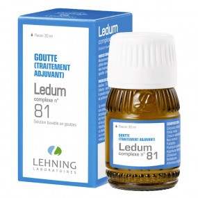 Lehning Ledum Complexe 81 Solution buvable en gouttes 30 ml