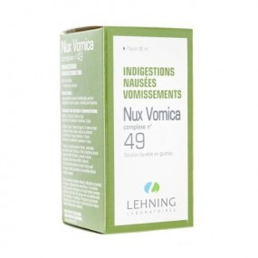 Lehning Nux Vomica Complexe n°49 solution buvable 30 ml