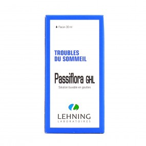 Lehning Passiflora GHL solution buvable gouttes 30ml