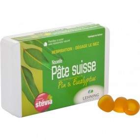 Lehning Pâte Suisse Pin et Eucalyptus 50 g