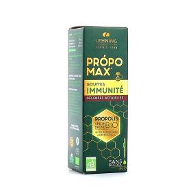 Lehning Propomax Immunité Défenses Affaiblies Extrait de Propolis BIO