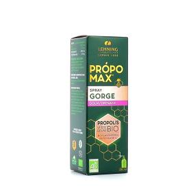 Lehning Propomax Spray Gorge Doux/Grenade Propolis BIO