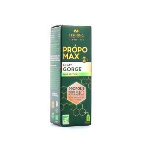 Lehning Propomax Spray Gorge Propolis BIO Sans Alcool
