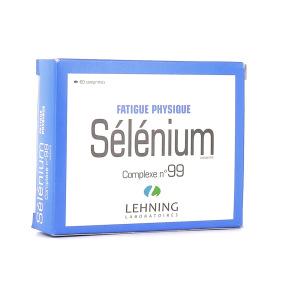 Lehning Sélénium Complexe 99 60 comprimés