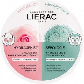 Lierac Duo Mask Hydragenist x Sébologie 2x6ml