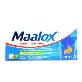 Maalox 60 comprimés à croquer