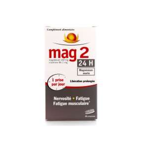 Mag 2 24H nervosité, fatigue et fatigue musculaire