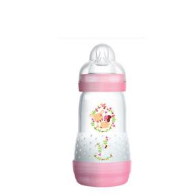 Mam Easy Start Biberon Rose Anti-colique 260ml