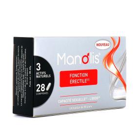 Manolis Fonction érectile 28 comprimés