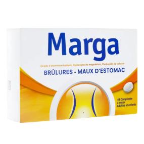 Marga Brûlures Maux d'Estomac