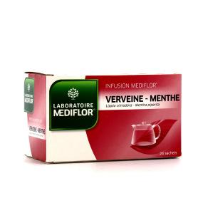 Médiflor Infusion Verveine-Menthe 24 sachets