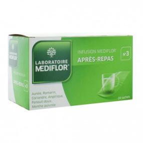 Mediflor tisane n°3 après repas 24 sachets