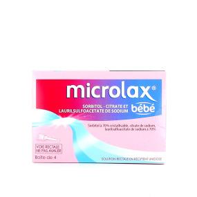 Microlax bébé