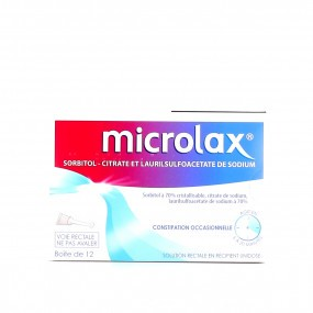 Microlax adulte solution rectale doses