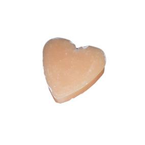 Mini savon coeur melon - La Savonnerie Antillaise