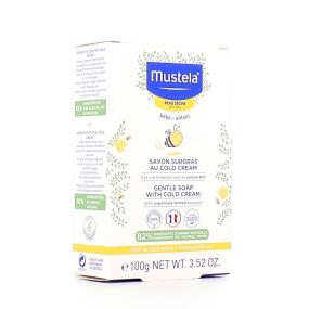 Mustela savon surgras au cold cream nutri-protecteur