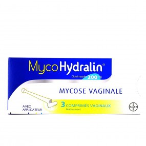 MycoHydralin 200 mg mycose vaginale 3 comprimés vaginaux