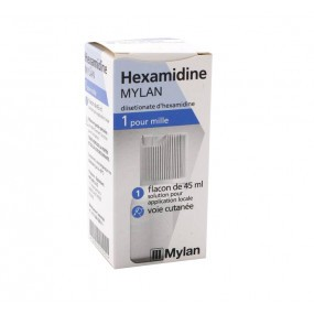 Mylan Hexamidine 1 pour 1000 solution 45 ml