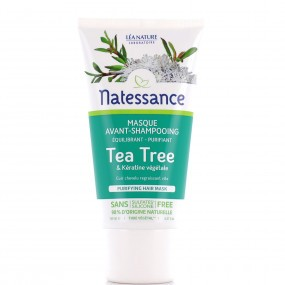 Natessance masque avant shampooing tea tree en 150 ml