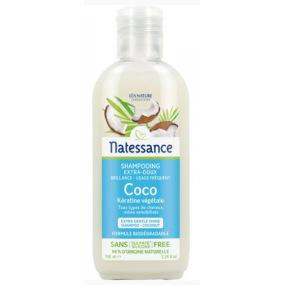 Natessance Shampoing Coco et Kératine Végétale 100 ml