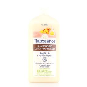 NATESSANCE Shampooing Crème Karité