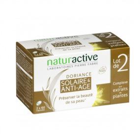Naturactive Doriance Solaire et anti-âge Lot 2x 60 capsules