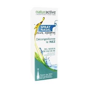 Naturactive Spray Nasal aux essences pour décongestionner le nez en 20 ml