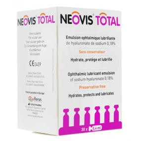 Neovis Total Émulsion Ophtalmique Lubrifiante