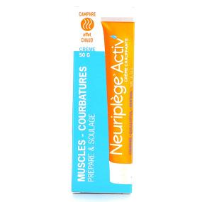 Neuriplège Activ' Crème chauffante Courbatures musculaires 50 g