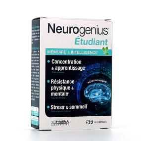 Neurogenius Étudiant Mémoire et Intelligence