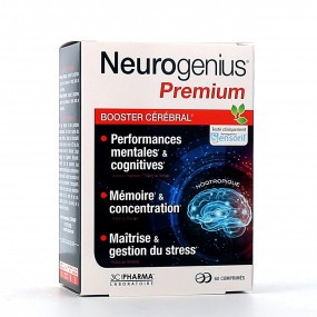 Neurogenius Premium Booster Cérébral