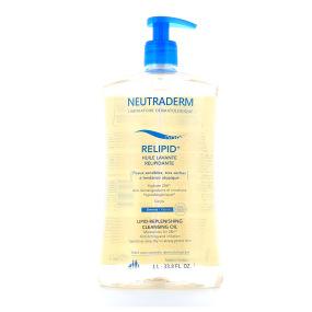 Neutraderm relipid+ Huile lavante relipidante