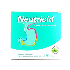 Neutricid Suspension Buvable en Sachet 18 sachets