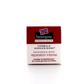 Neutrogena baume lèvres et narines réparation intense