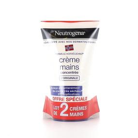 Neutrogena crème mains concentrée l'originale