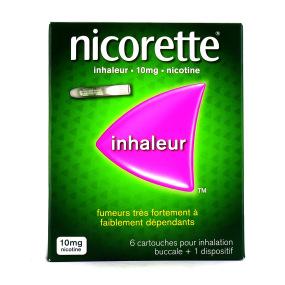 Nicorette inhalateur 10 mg