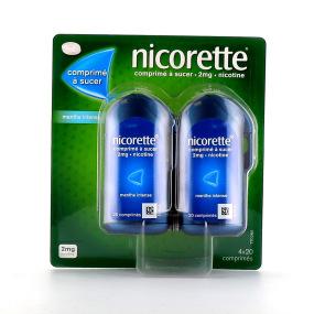 Nicorette 2 mg menthe intense comprimés à sucer