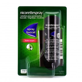 Nicorette Spray Fruit Rouge 1 Spray