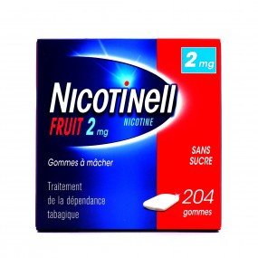 Nicotinell fruit 2 mg gommes