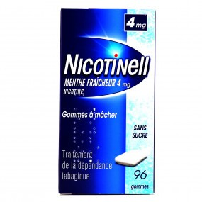 Nicotinell menthe fraîcheur 4 mg gommes sans sucre