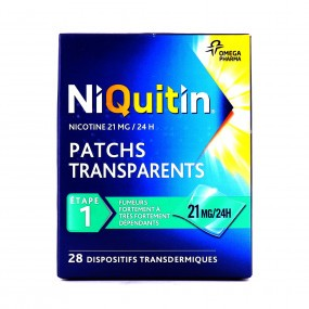 Niquitin patchs 21 mg/24h