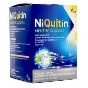 Niquitin 2mg menthe glaciale gommes