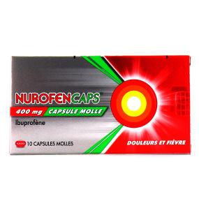 NurofenCaps 400 mg 10 capsules