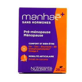 Nutrisanté Manhae+ Curcuma Sans Hormones - 56 capsules
