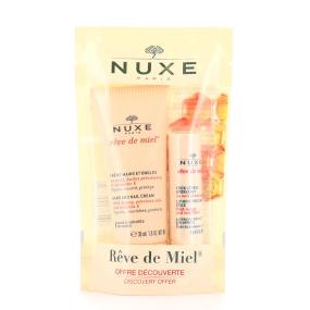 Nuxe Rêve de miel crème mains et ongles + stick lèvres hydratant
