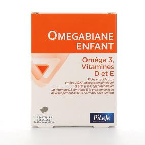 Pileje Omegabiane enfant 27 pastilles