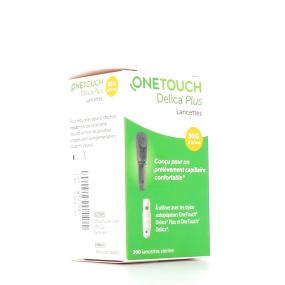OneTouch Delica Plus Lancettes Stériles