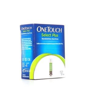 OneTouch Select Plus Bandelettes Réactives