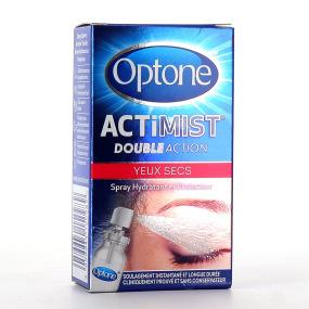 OPTONE ActiMist 2 en 1 Spray Oculaire Yeux Secs 10ml